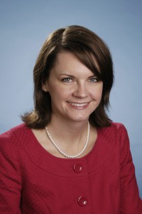 Head shot of Melinda Sutton in the Office of the Dean of Students.
